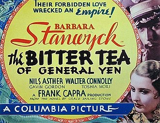 The Bitter Tea of General Yen - Theatrical release poster