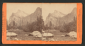 The Bridal Veil Fall, 940 feet high, and Three Graces, Yosemite Valley, Mariposa County, by Lawrence & Houseworth.png