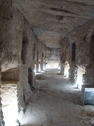 Serapeum - The Catacombs beneath the Serapeum of Alexandria