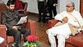 The Chief Minister of Tripura, Shri Manik Sarkar meeting the Union Minister for Consumer Affairs, Food and Public Distribution, Shri Ram Vilas Paswan, in New Delhi on January 18, 2017 (1).jpg