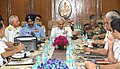 The Chief of Naval Staff, Admiral Sunil Lanba, the Chief of Army Staff, General Bipin Rawat and the Chief of the Air Staff, Air Chief Marshal B.S. Dhanoa at the Naval Commander's Conference, in New Delhi on May 11, 2018.JPG