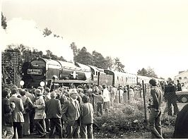 The Citadel Express at Armathwaite railway station in 1978.jpg