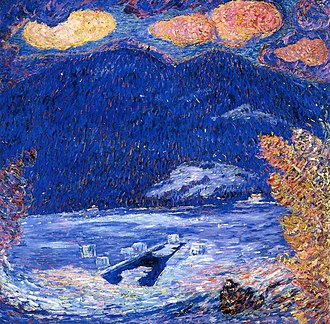 Marsden Hartley - Image: The Ice Hole Marsden Hartley