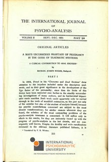 The International Journal of Psycho-Analysis II 1921 3-4.djvu
