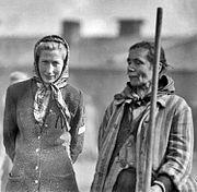 The Liberation of Bergen-belsen Concentration Camp, April 1945 BU4010