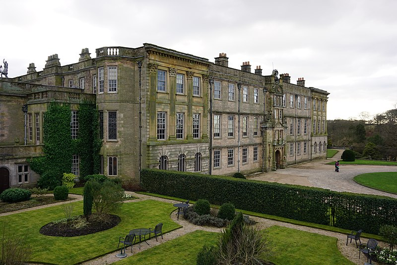 File:The Mansion House viewed over Wyatt Garden, Lyme Park, Disley, Cheshire-24876519160.jpg