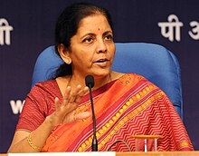 The Minister of State for Commerce & Industry (Independent Charge), Smt. Nirmala Sitharaman addressing a press conference, in New Delhi on October 14, 2016.jpg