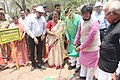 The Minister of State for Environment, Forest and Climate Change (Independent Charge), Shri Prakash Javadekar planting a tree, at the Jataya Conservation Breeding Centre, Pinjore, in Haryana.jpg