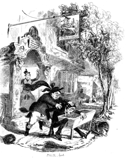 The Pickwick Papers Illustrated Title Image