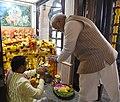 The Prime Minister, Shri Narendra Modi performed Abhishekam at the historic Lord Shiva temple, in Muscat, Oman on February 12, 2018 (1).jpg