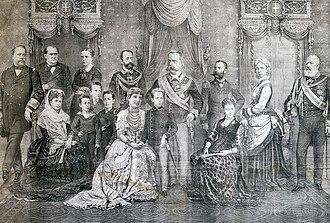 Umberto I of Italy - The Royal family of King Umberto I