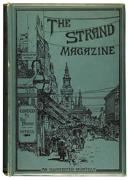 Datoteka:The Strand Magazine, bound volume 1894.JPG