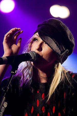 Katie White - Katie White performing at Optimus Alive! in Oeiras, Lisbon
