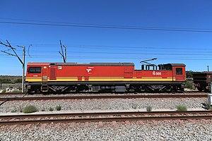 Sishen–Saldanha railway line - Example of a locomotive