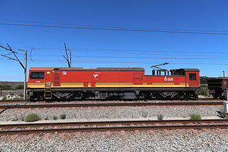 Sishen–Saldanha railway line - Example of a locomotive