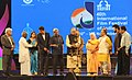 The Union Minister for Finance, Corporate Affairs and Information & Broadcasting, Shri Arun Jaitley lighting the lamp at the inauguration of the 46th International Film Festival of India (IFFI-2015), in Panaji.jpg