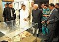 The Vice President, Shri Mohd. Hamid Ansari visits the Bangabandhu Museum, at Savar, in Bangladesh on May 05, 2011 (1).jpg