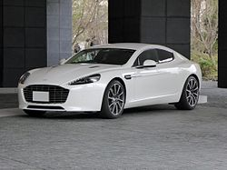 The frontview of Aston Martin RAPIDE S.JPG