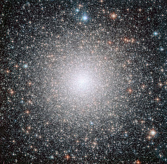Blue straggler - The globular cluster NGC 6388, observed by the Hubble Space Telescope.