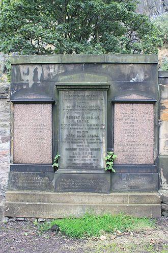 Robert Traill Omond - The grave of Robert Traill Omond, St Cuthberts Churchyard, Edinburgh