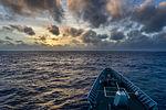 The guided missile cruiser USS Monterey (CG 61) travels in the Atlantic Ocean Jan. 2, 2014 140102-N-QL471-171.jpg