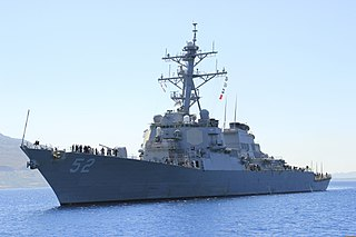 USS <i>Barry</i> (DDG-52) Arleigh Burke-class destroyer