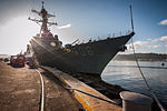 The guided missile destroyer USS Stockdale (DDG 106) sits pierside in Subic Bay, Philippines, Feb. 11, 2013, during a scheduled port visit 130211-N-HN991-093.jpg