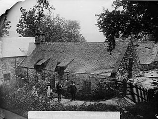 The old house, Hendre Mawr