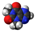 Theophylline 3D spacefill.png