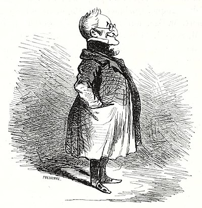 A caricature of Thiers in the National Assembly from the 1850s Thiers par Cham.JPG