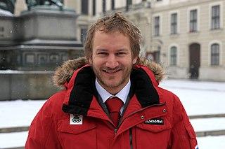 Thomas Zangerl Austrian freestyle skier