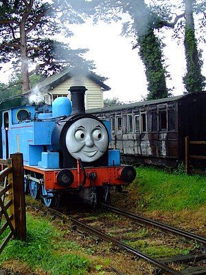 Thomas tank engine day, Bressingham