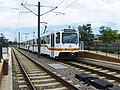 Three-car train at Littleton-Mineral stn of RTD light rail.jpg