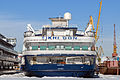 Tikhiy Don in Winter at Moscow North River Port Stern View 10-feb-2015.jpg