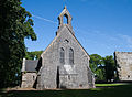 Timahoe Former Anglican Parish Church West Gable 2010 09 02.jpg
