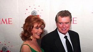 Joy and Regis Philbin attend the Time 100 2006 gala.