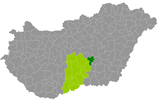 Tiszakécske District Districts of Hungary in Bács-Kiskun