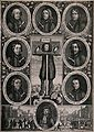 Titus Oates standing in the pillory surrounded by medaillons Wellcome V0041679.jpg
