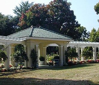 Pasadena Tournament of Roses Association - The Rose Garden at the Tournament House