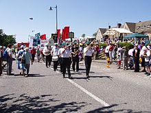 How did the Tolpuddle Martyrs Protest?
