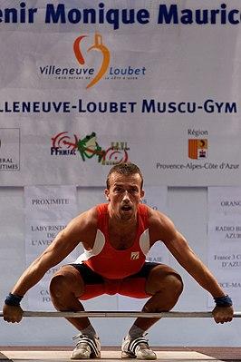 Tom Goegebuer op de Souvenir Monique Maurice te Villeneuve-Loubet, Frankrijk