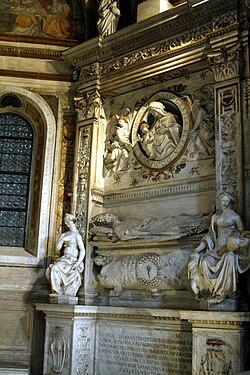 Tomb of Giovanni de Castro - Cappella Della Rovere - Santa Maria del Popolo - Rome 2015.jpg