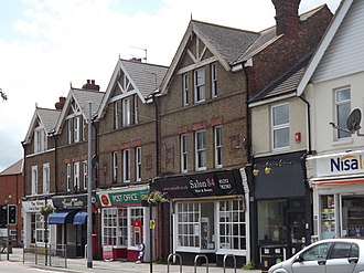Tongham - The shopping parade is centrally located