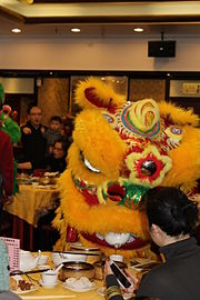 15557db26 Toronto Lion Dance team, Wushu Project pouring Chinese Tea to person(s)  who've requested it