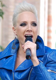 Gabi Tóth Hungarian female singer
