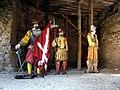 Tour de la Sergenterie, figurines de soldats.JPG
