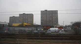 Tower blocks in Doncaster Towerblocks, Doncaster (geograph 2407419).jpg