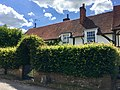 Town farmhouse and wall fronting road, Little Missenden, June 2018.jpg