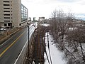 Track 61 from West 2nd Street, March 2015.JPG