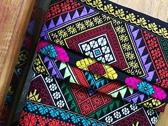 Argon (clothing) - Image: Traditional Hajong clothing argon black